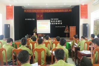 VQG Phong Nha – Kẻ Bàng: Tập huấn triển khai Luật Lâm nghiệp và các văn bản quy phạm pháp luật